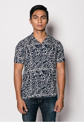 Gingersnap Bali multi Printed Men Maiko Short Sleeve Shirt 7D355AA28AD76AGS_1