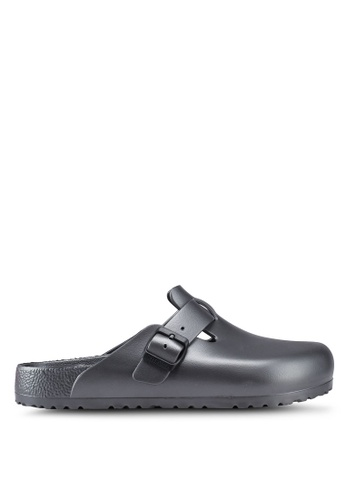 Birkenstock grey Boston EVA Sandals 39439SH818371CGS_1