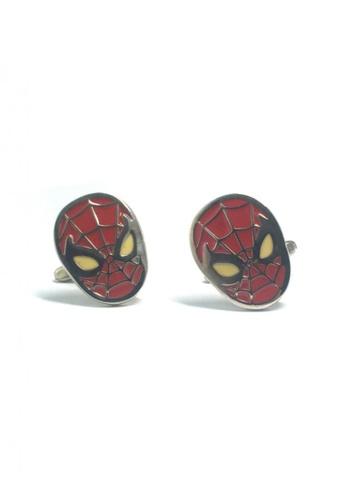 Splice Cufflinks red Spiderman 2 Cufflinks  SP744AC77ELYSG_1