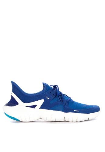 Nike blue Nike Free Rn 5.0 Shoes B145CSH27F17FDGS_1
