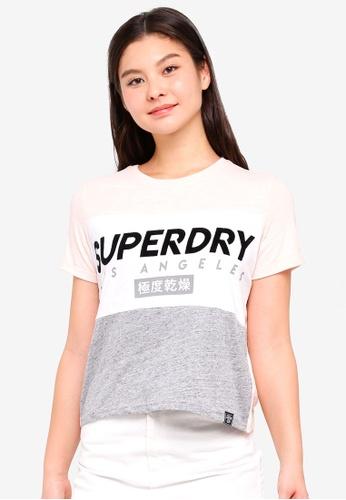 Superdry multi La Boxy Tee 49396AAFBD1214GS_1
