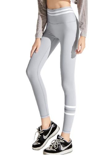 Trendyshop grey High-Elastic Fitness Leggings 40406US1C3D2B1GS_1