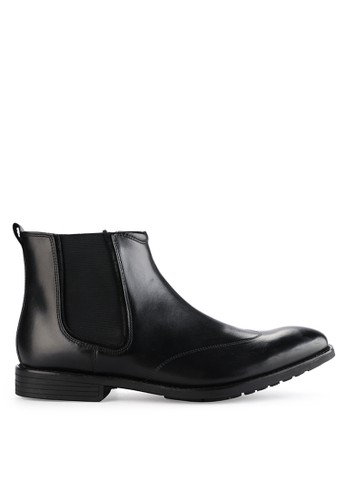 Hush Puppies black Mudi Chelsea Boot B73A5SHCFB76D7GS_1