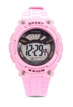 Girls Rubber Strap Watch MXPO-637A