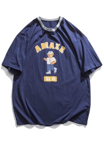 Twenty Eight Shoes Trend Printed Short T-shirt HH0021 3B8B5AA0659FB1GS_1