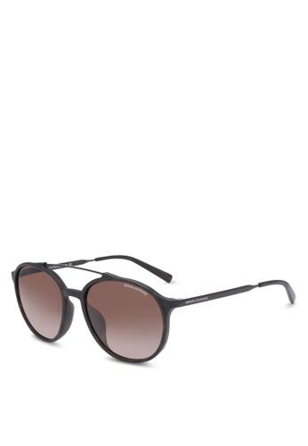 Armani Exchange brown Armani AX4069SF Sunglasses AR162GL0SEQ4MY_1
