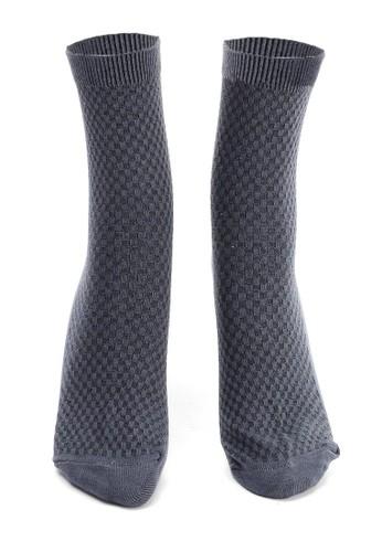 Hamlin grey Hamlin Bumbha Kaos Kaki Pria Mozaik Anti Odor Socks Footwear Material Bamboo Fiber ORIGINAL E76E9AAC407E18GS_1