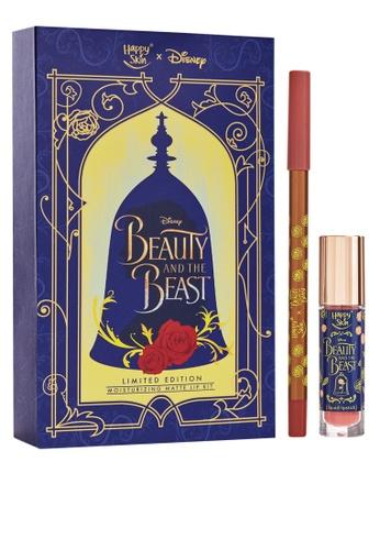Happy Skin n/a Happy Skin X Disney Beauty and the Beast Moisturizing Matte Lip Kit HA428BE25FRIPH_1