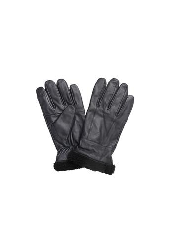 Universal Traveller navy Universal Traveller Sheep Skin Leather Gloves - GVL 9003 E51BCAC68049B1GS_1