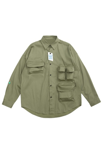 Twenty Eight Shoes Overshirt With Pockets 2100W20 5C67EAA2968156GS_1