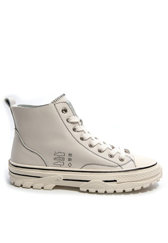 Twenty Eight Shoes High Top Smart Causal Leather Sneakers RX99813 94D7BSHF80501DGS_1
