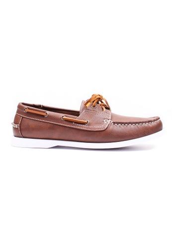 Moley brown Classic Boat Shoes 60913SHCD533F0GS_1