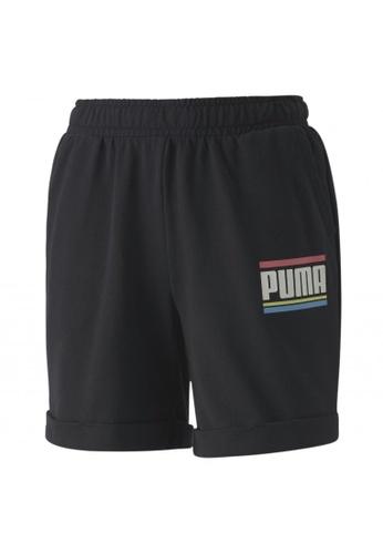 PUMA black PUMA Celebration Girls' Shorts CF4E8KAF0E1B99GS_1
