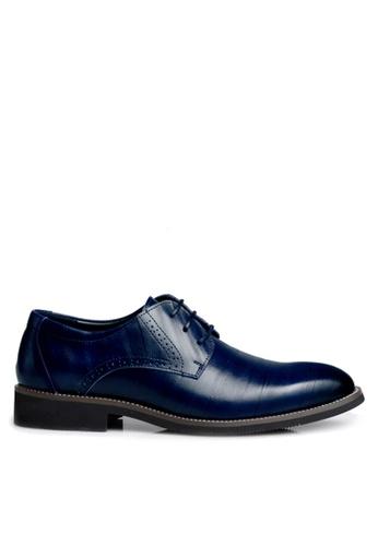 Twenty Eight Shoes blue Cow Leather Brouge Oxford Shoes VMF2538 DE220SHD9F077DGS_1