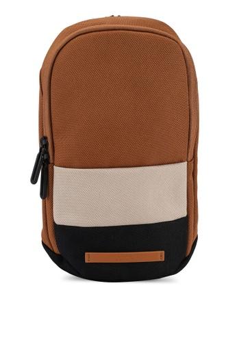 Anta brown Urban Commuting Chest Bag 5DCF2AC2E400C1GS_1