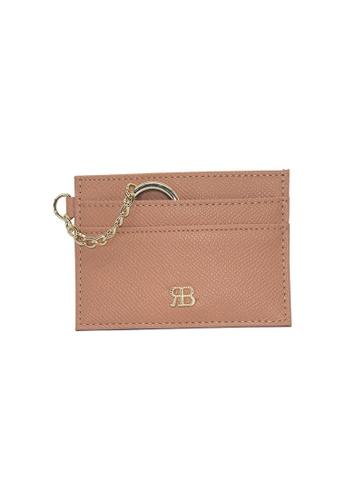 Bethany Roma Bethany Roma Card Holder Key Chain - Apricot F104EACF8C95E1GS_1