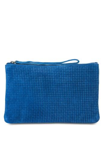 麂皮編mango 門市織手拿包, 包, 飾品配件