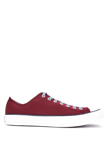 Converse red Chuck Taylor Collegiate Colors Sneakers 150ECSHBAFD40EGS_1