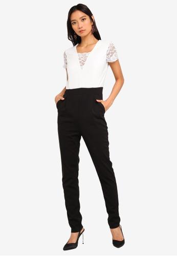 WALG multi Lace Cap Sleeve Jumpsuit 54334AA9538323GS_1