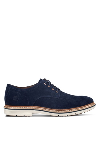 Timberland navy Timberland Men's Naples Trail Oxfords TI845SH00IRZSG_1