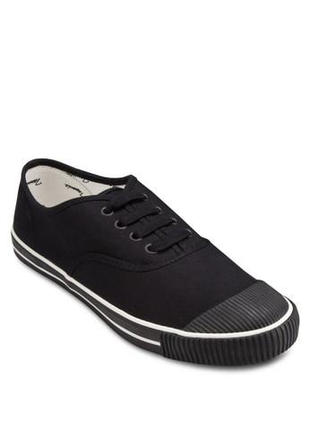 經典esprit hk outlet網球繫帶帆布鞋, 女鞋, 鞋