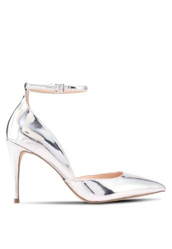 ALDO silver Laycey Heeled Shoes B3252SH633592AGS_1