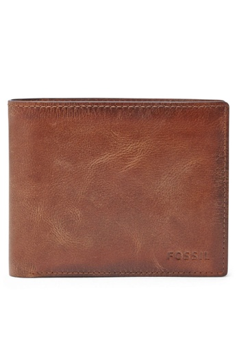 Fossil brown Fossil Coin Bifold ML3687200 Wallet FO313AC17ILMSG_1