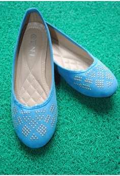 TNL Briana Ballet Shoes (Blue)