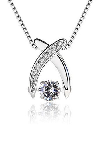 LYCKA silver LPP88055 S925 Silver Necklace 48821AC1ECB7FCGS_1