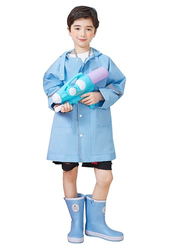 Twenty Eight Shoes blue VANSA  Stylish Soild colour Raincoat VCK-R17673 379AFKA2089671GS_1