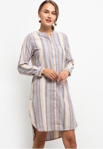 Triset Ladies multi Galina Dress E15C4AA3F377B9GS_1