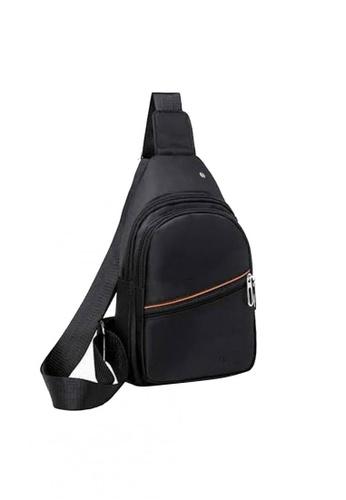 Lucky JX black Radel Sling Crossbody Bag for Men 7654BACBC60E37GS_1
