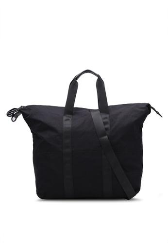TOPMAN black Black Weekender Bag TO413AC0S5LDMY_1