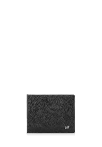 promo code 52e07 47f9f Braun Buffel black Klaus Black Flap-Up Cards Wallet 31A5FAC543BE24GS 1
