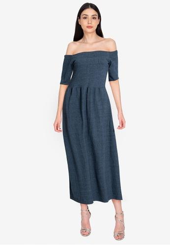 Chictees blue Donna Dress 355A8AA6AF62E9GS_1