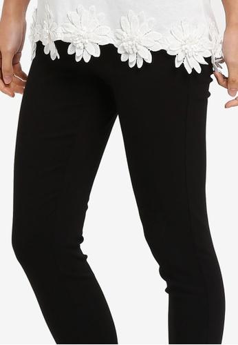 227aa5775b5031 Buy Dorothy Perkins Black Pull On Skinny Treggings Online   ZALORA Malaysia