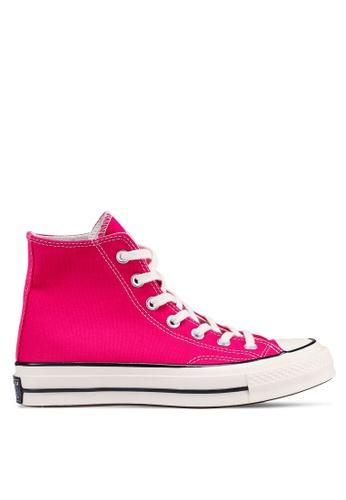 Converse 粉紅色 Chuck 70 Summer League Hi 運動鞋 C3560SHAD990D3GS_1