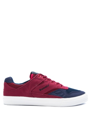 SONNIX red Tribute Vulc Q317 Men'S Lace Up Sneaker Shoes SO490SH0K4MWPH_1