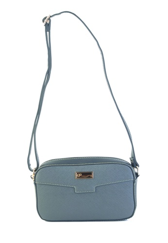 AR by Alfio Raldo grey AR By Alfio Raldo AB-2318 Sling Bag Light Grey B98B2AC6A8644DGS_1