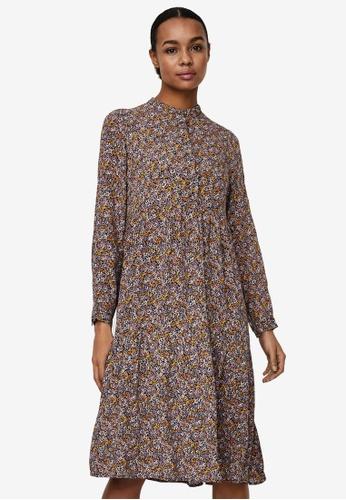 Vero Moda black Chello Printed Dress C1C0EAAC068289GS_1