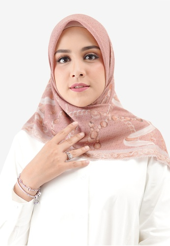 Buttonscarves pink Buttonscarves Chain Series Mauve A2FA0AA63D5AABGS_1
