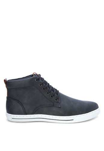 Italianos black Dewey Sneakers IT153SH0K85EPH_1
