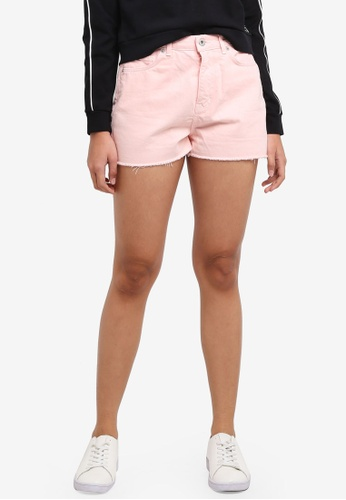 Jack Wills pink Cheshire Girlfriend Shorts A8832AAA0A87F3GS_1