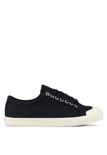 Gola black and white Tiebreak Sneakers E778DSHDADCEA2GS_1