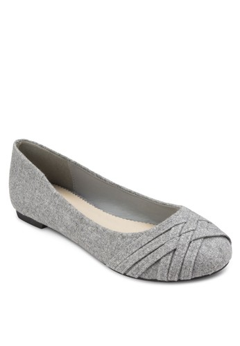 Sherri 編織圓頭平底鞋, 女鞋, 芭esprit hk分店蕾平底鞋
