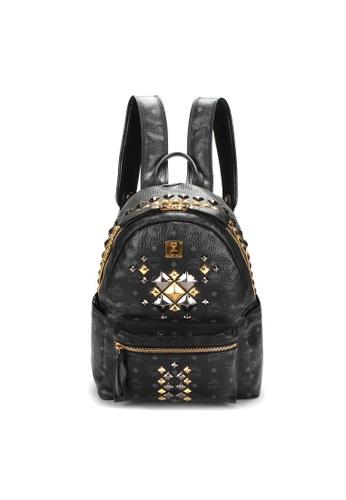 MCM black Pre-Loved mcm MCM Rucksack Backpack in Black 2BEC2AC6D135F7GS_1