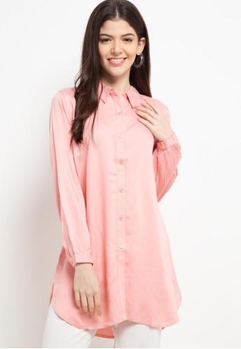Geela pink Alakandra Shirt F41B5AAA937613GS_1