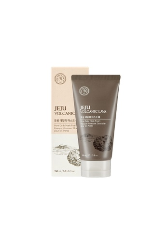 THE FACE SHOP Jeju Volcanic Lava Pore Daily Mask Foam 2282FBE82555BEGS_1