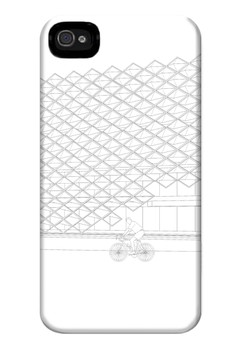 Brise Soleil Up Matte Hard Case for iPhone 4, iPhone 4s