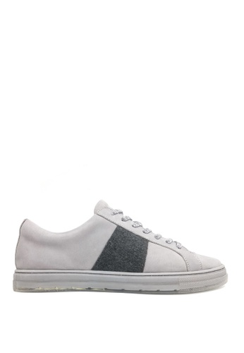 Kenneth Cole New York grey COLVIN SNEAKER B - Casual Lace-Up Sneaker 68545SHB1C6D4CGS_1